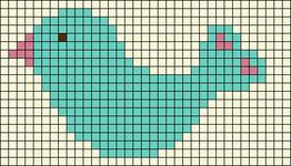 Alpha pattern #9864