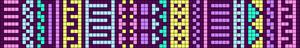 Alpha Friendship Bracelet Pattern #9867
