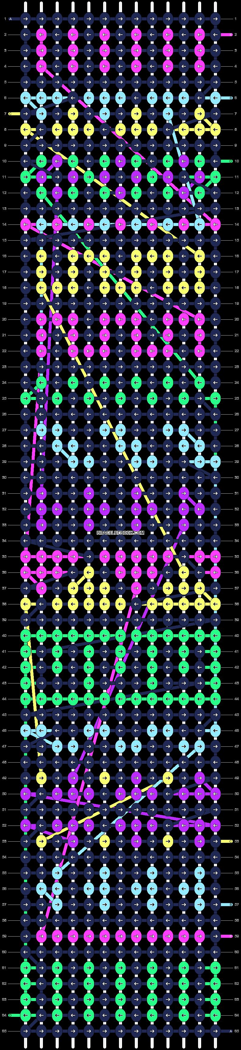 Alpha pattern #9868 pattern