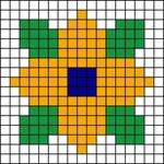 Alpha pattern #9872