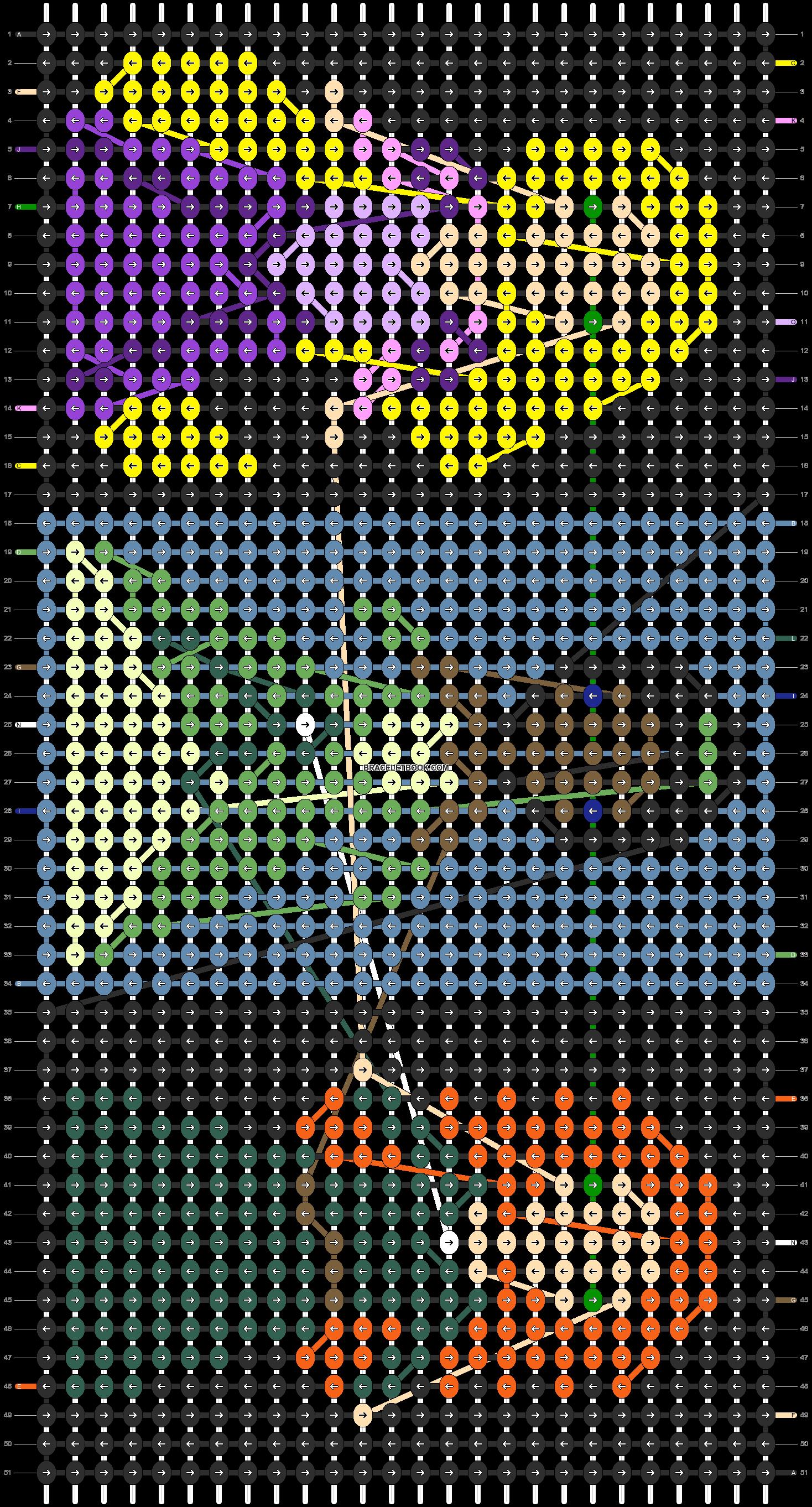 Alpha pattern #9887 pattern