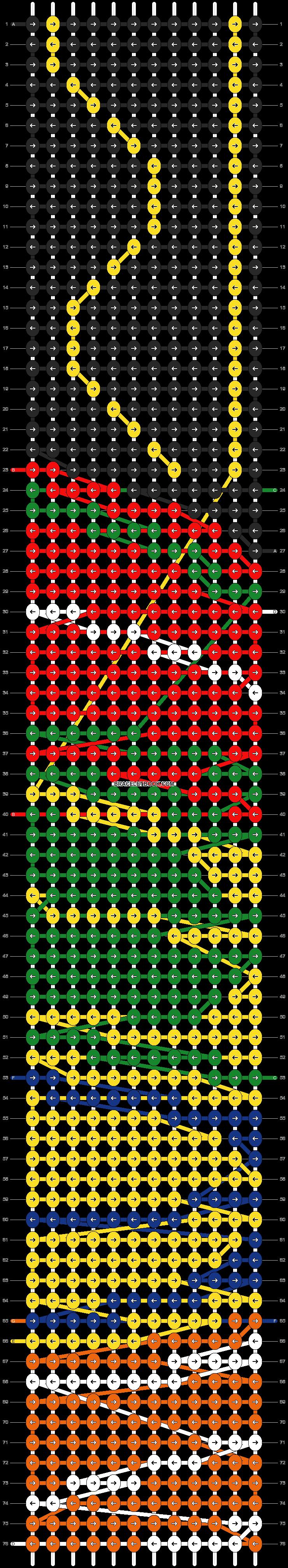Alpha pattern #9889 pattern