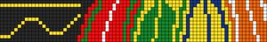 Alpha Friendship Bracelet Pattern #9889