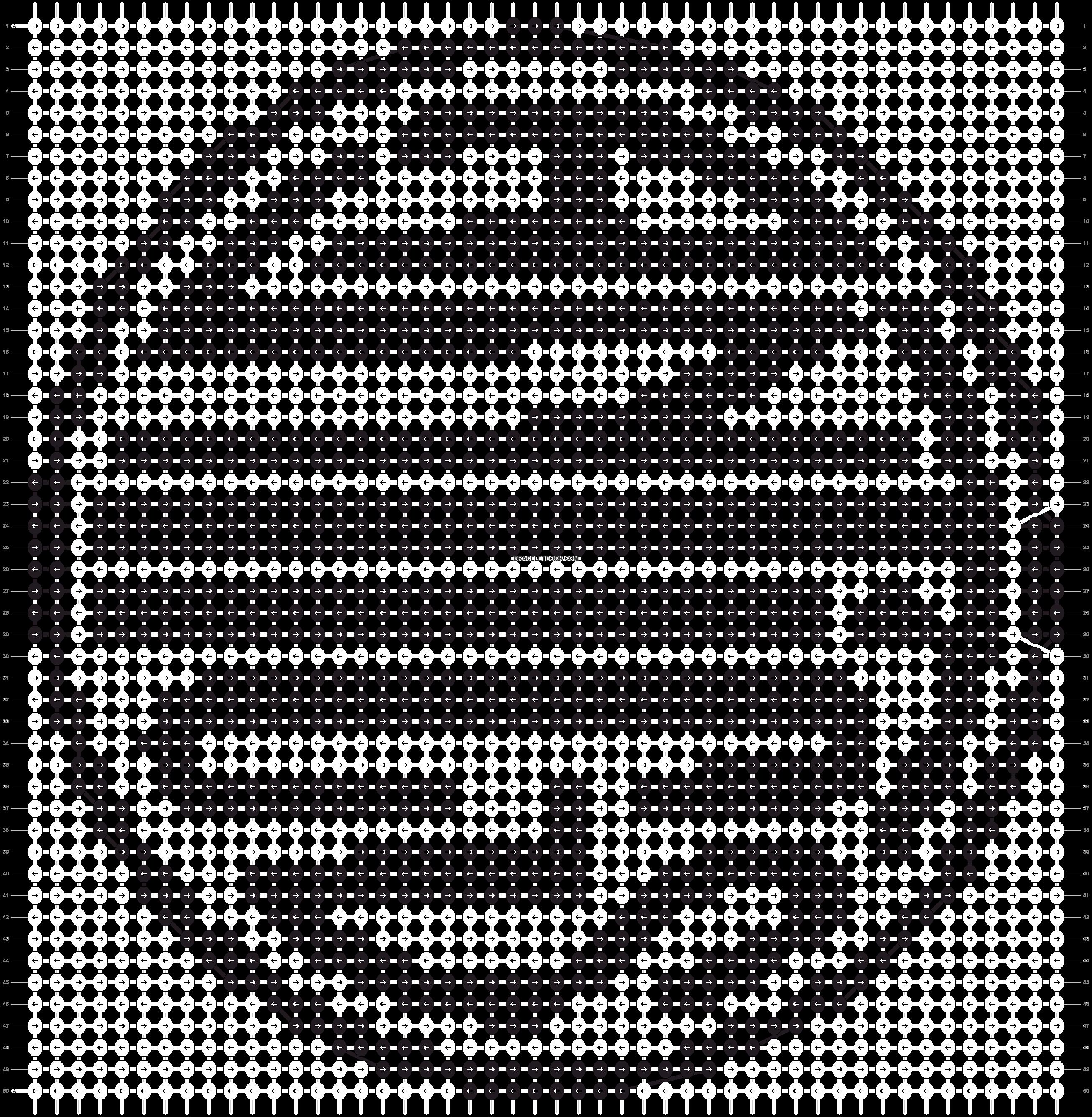 Alpha pattern #9895 pattern