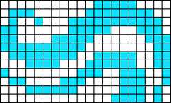 Alpha pattern #9900