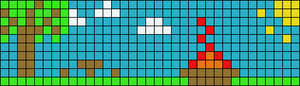 Alpha pattern #9902