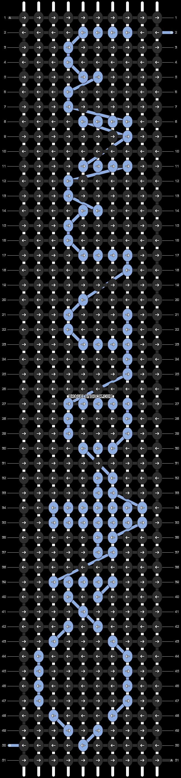 Alpha pattern #9905 pattern