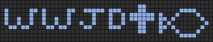 Alpha pattern #9905
