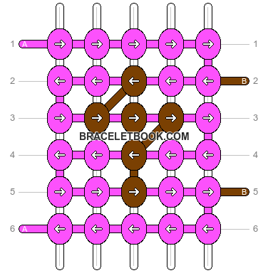 Alpha pattern #9909 pattern