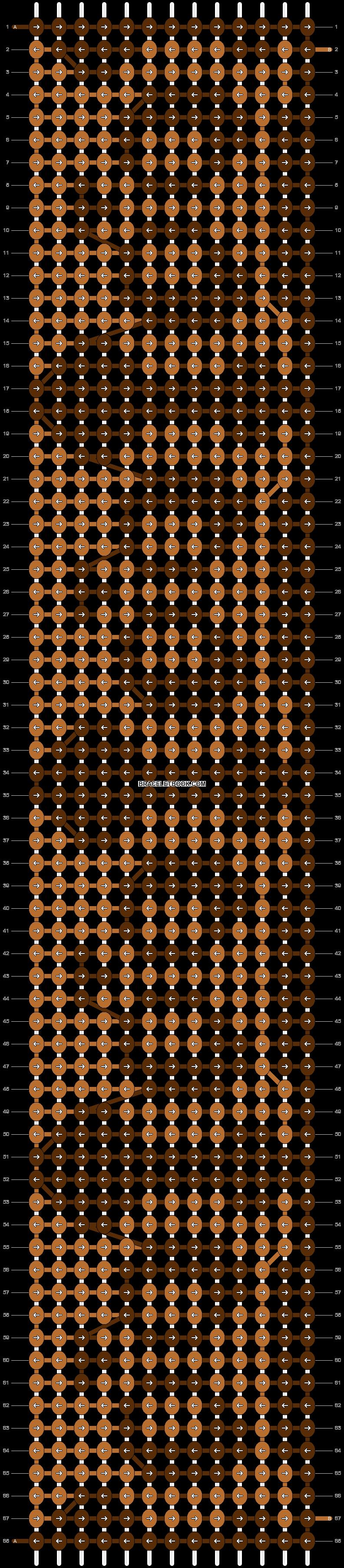 Alpha pattern #9918 pattern
