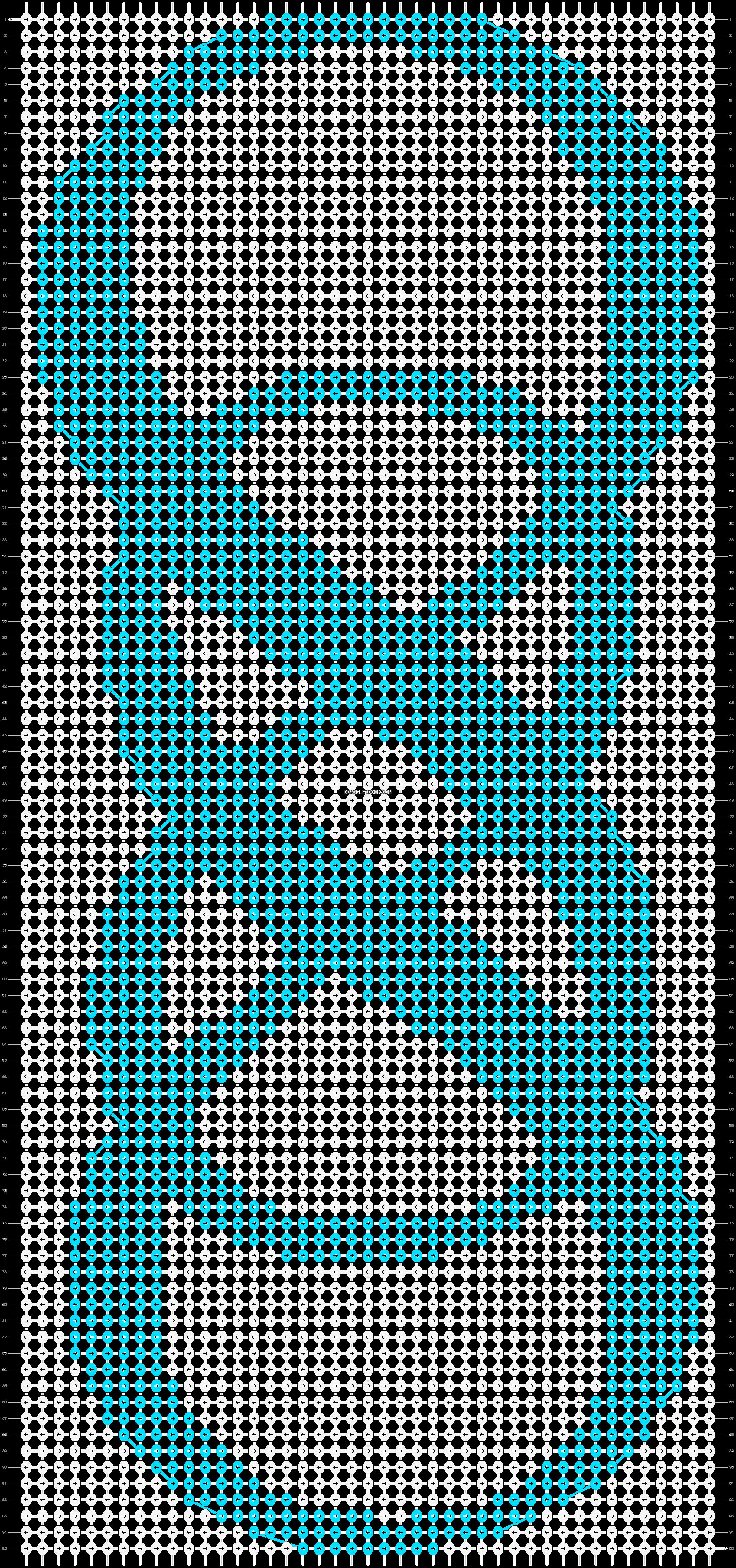 Alpha pattern #9921 pattern
