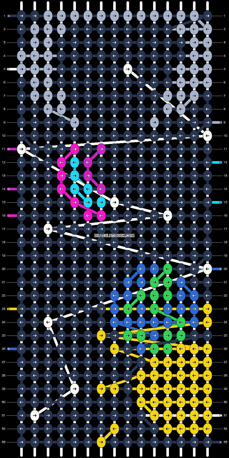 Alpha pattern #9924 pattern