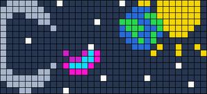 Alpha pattern #9924