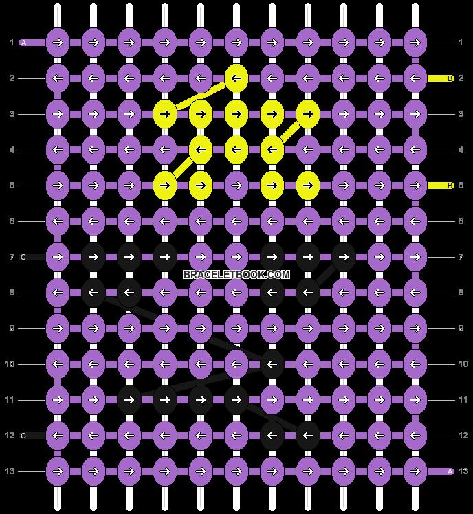 Alpha pattern #9930 pattern