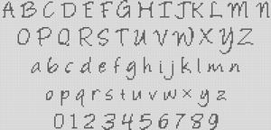 Alpha pattern #9934