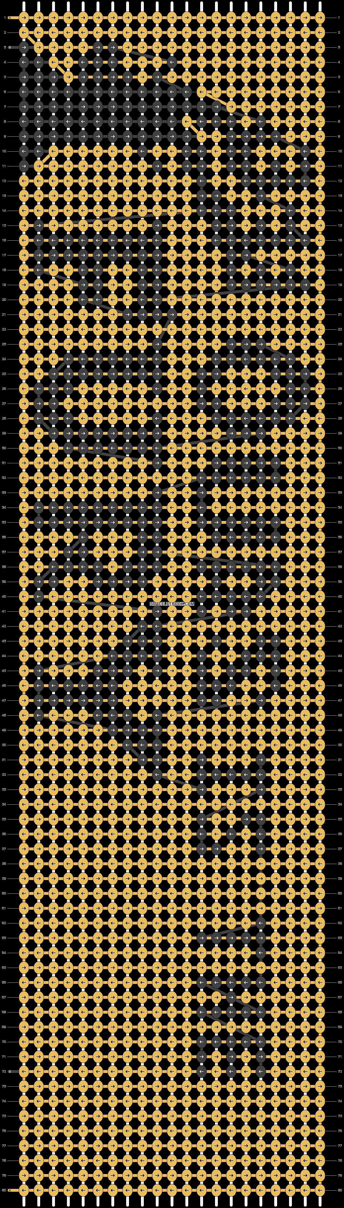 Alpha pattern #9942 pattern