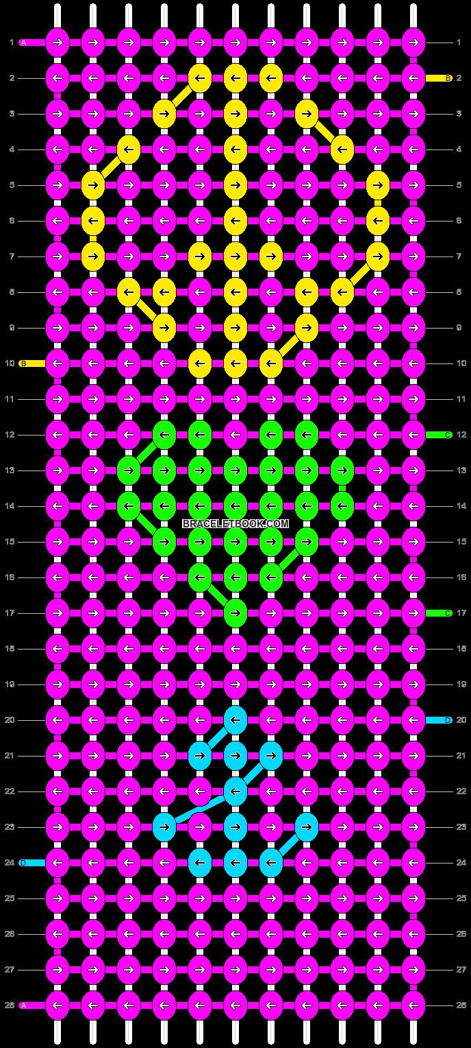 Alpha pattern #9944 pattern