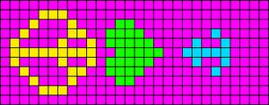 Alpha pattern #9944