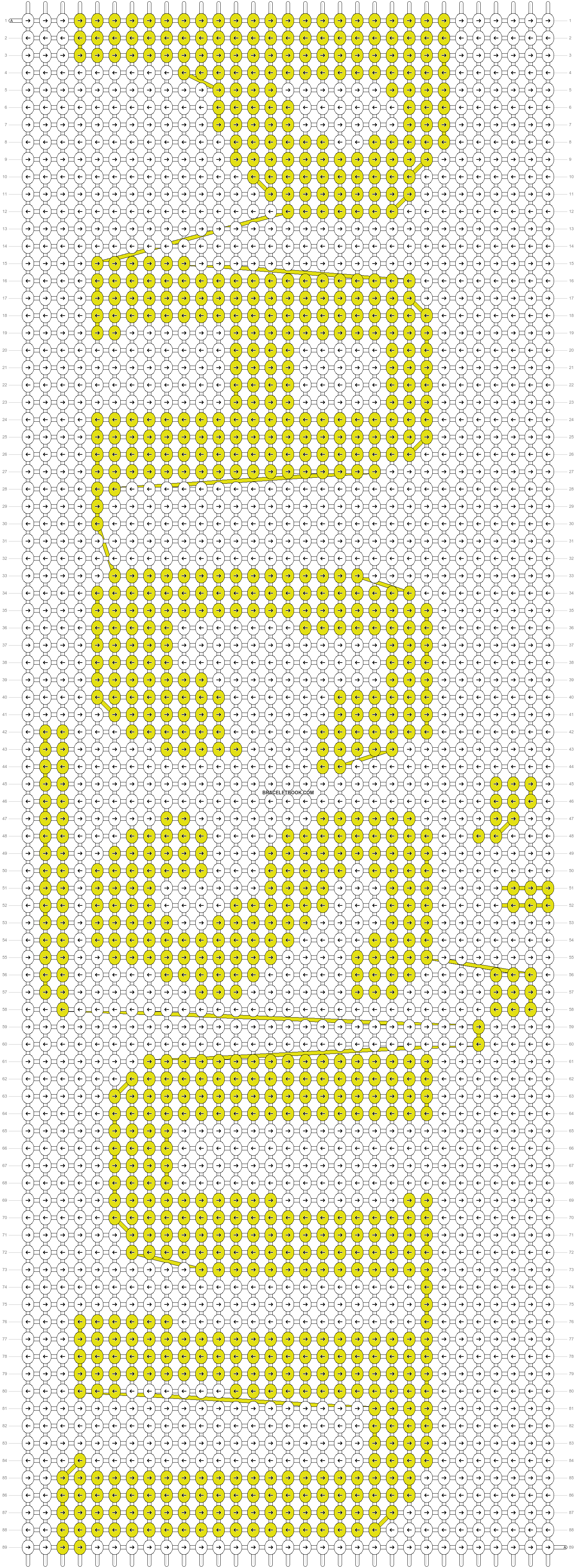 Alpha pattern #9945 pattern