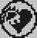 Alpha Friendship Bracelet Pattern #9946