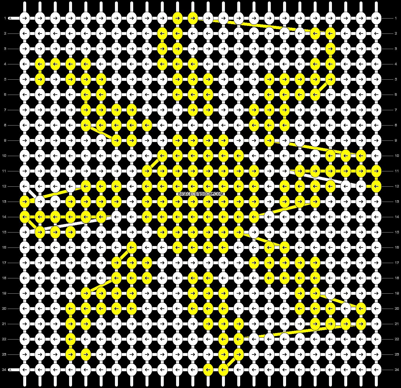 Alpha pattern #9948 pattern