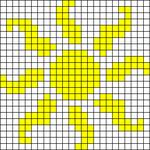 Alpha pattern #9948