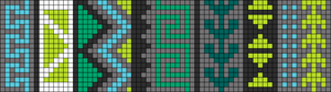 Alpha pattern #9951