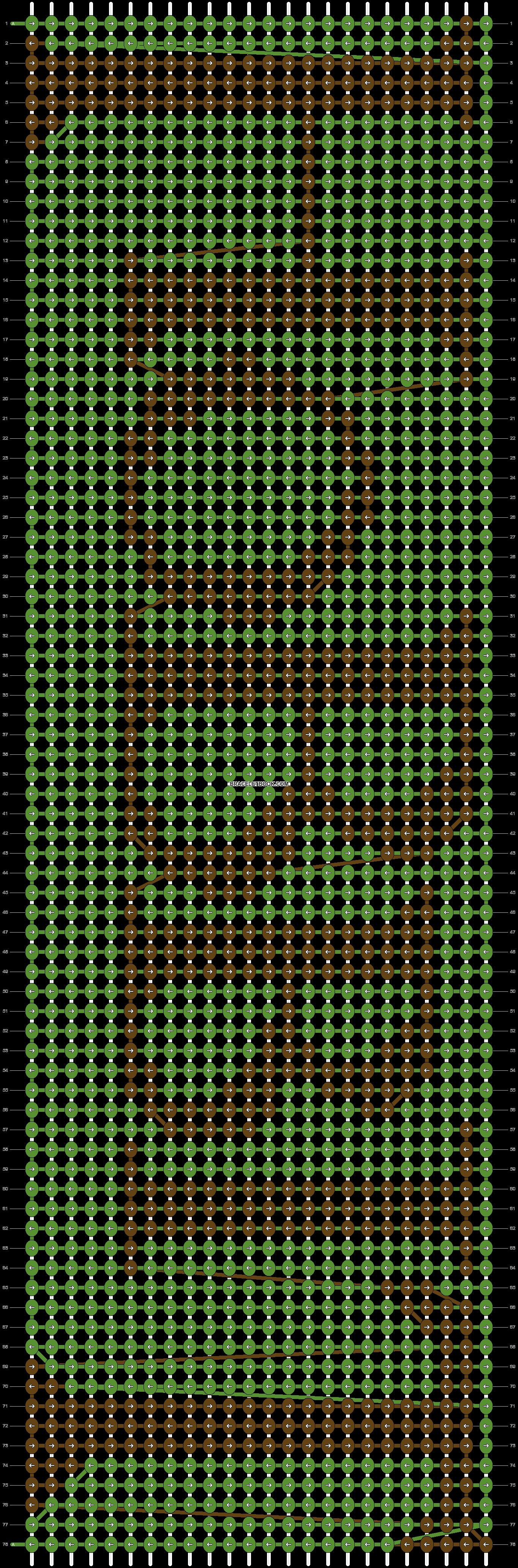 Alpha pattern #9952 pattern