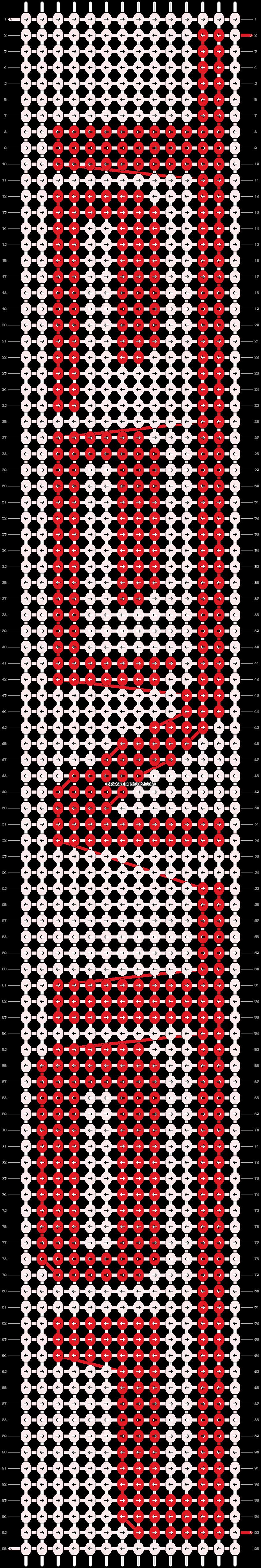 Alpha pattern #9958 pattern