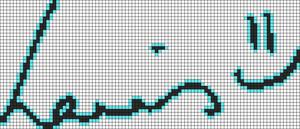 Alpha pattern #9966