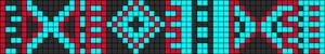 Alpha Friendship Bracelet Pattern #9967