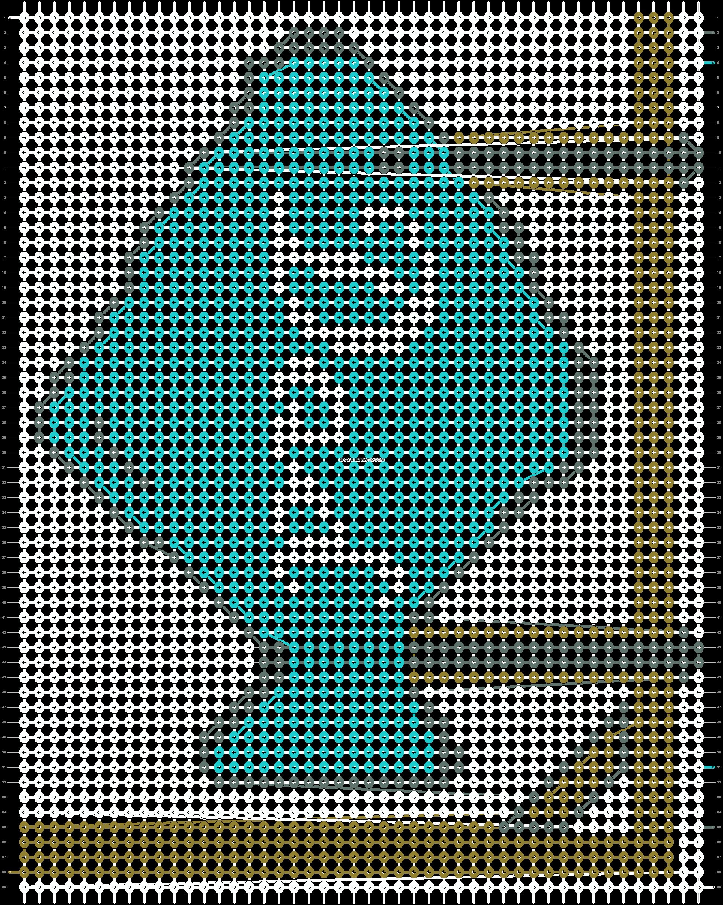 Alpha pattern #9968 pattern