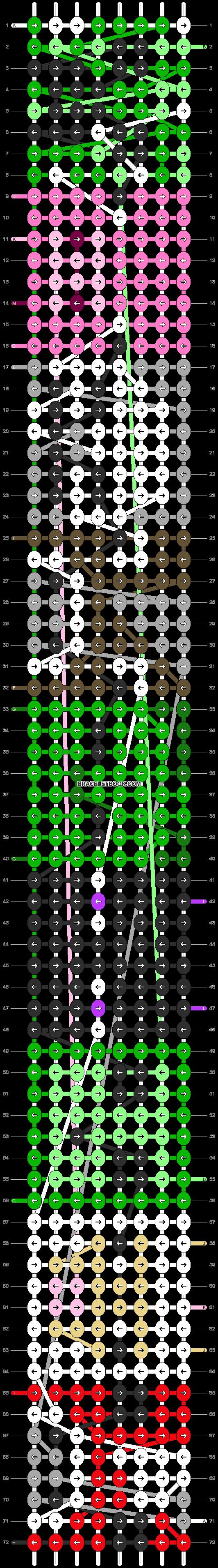 Alpha pattern #9969 pattern
