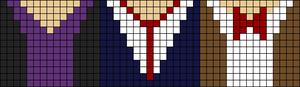 Alpha Friendship Bracelet Pattern #9970