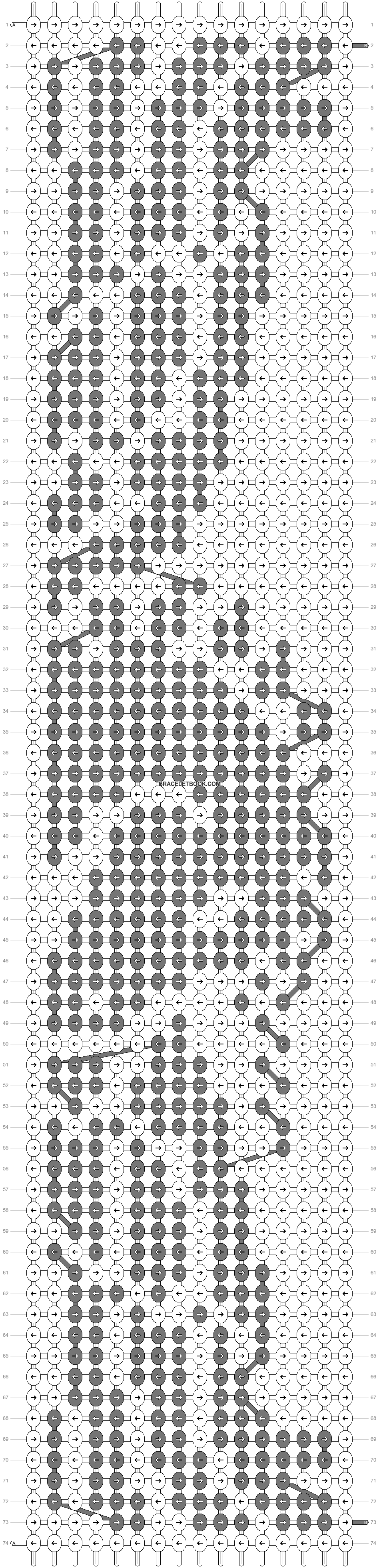 Alpha pattern #9973 pattern