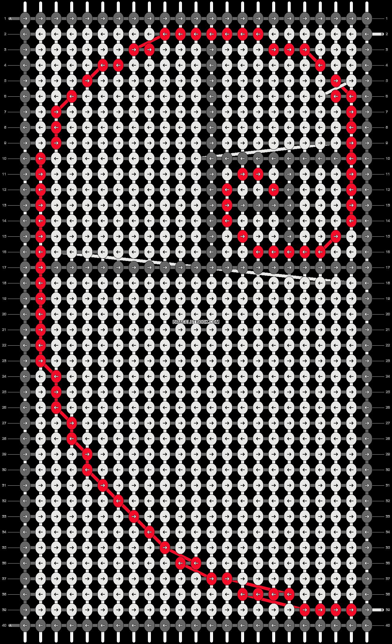 Alpha pattern #9976 pattern