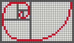 Alpha pattern #9976