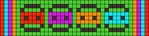 Alpha pattern #10000