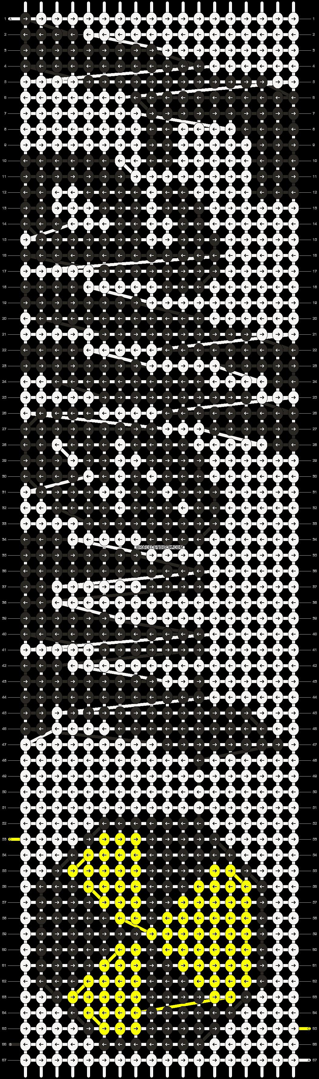 Alpha pattern #10002 pattern