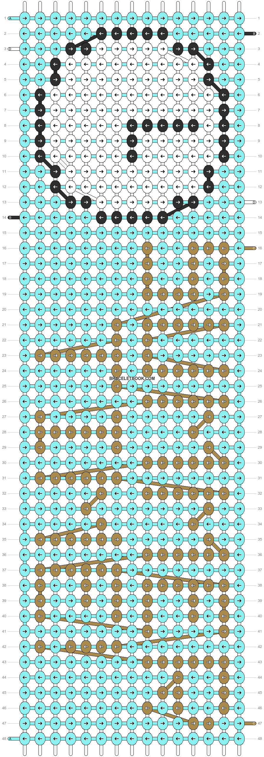 Alpha pattern #10004 pattern