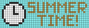 Alpha Friendship Bracelet Pattern #10004