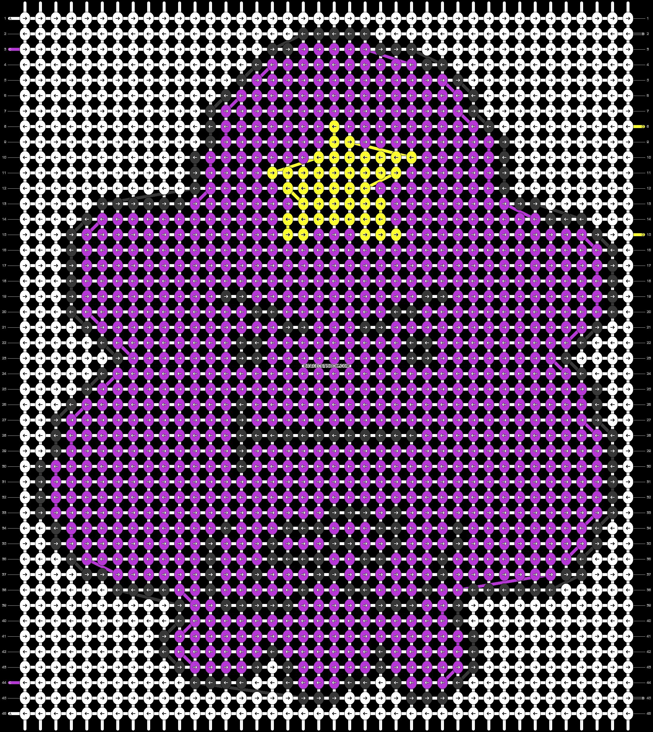 Alpha pattern #10008 pattern