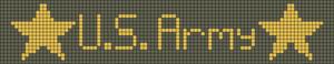 Alpha Friendship Bracelet Pattern #10011
