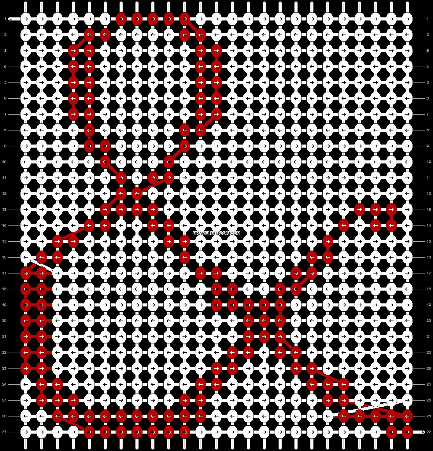 Alpha pattern #10029 pattern