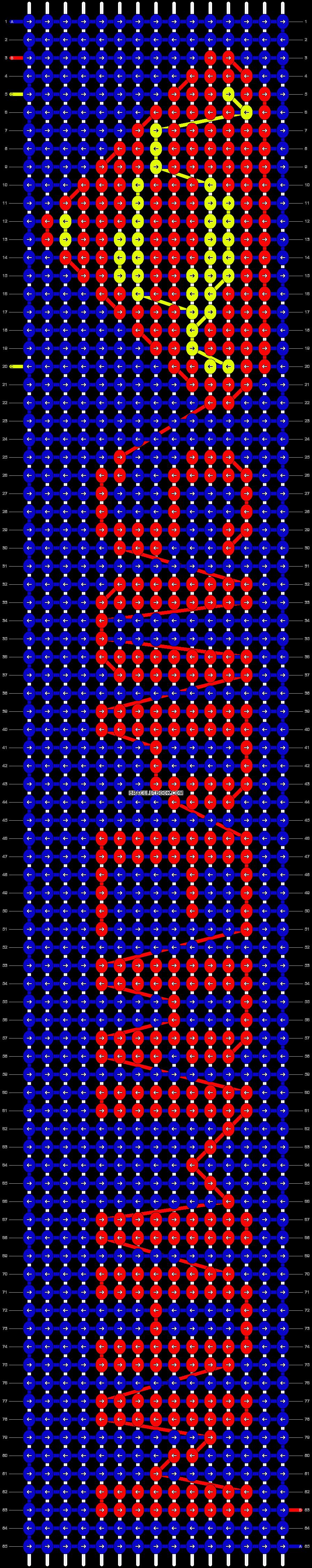 Alpha pattern #10030 pattern