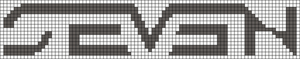 Alpha pattern #10031
