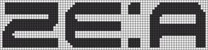 Alpha pattern #10042