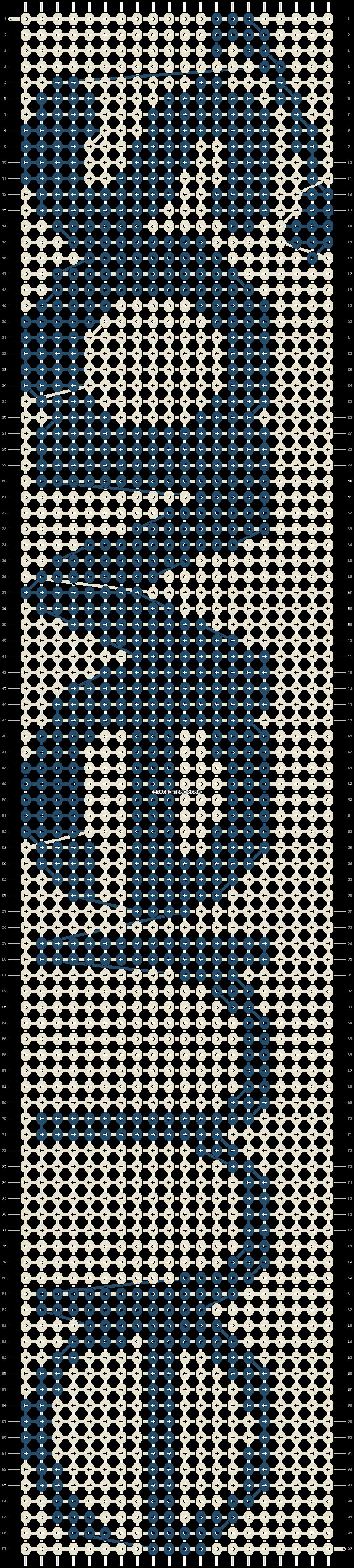Alpha pattern #10046 pattern