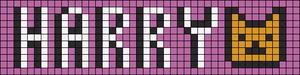 Alpha Friendship Bracelet Pattern #10050