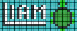 Alpha pattern #10051